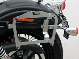 Fehling: クルーザーケースホルダー for Givi/Kappa Cruiser Cases for HD Dyna Street Bob(09-)