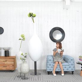 ★送料無料 HP フラワーベース(ホワイト)#GF14002 アジアン家具 雑貨