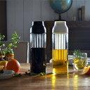 CAPSULE コールドブリューカラフェ 【ホワイト / ダークブラウン】 ポット ジャグ 麦茶 水出し ピッチャー 食器 しょっき ガラス ガラ…