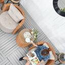★送料無料 ウォーターヒヤシンス【ハバナ】コーヒーテーブル アジアン家具 リゾート サイドテーブル テーブル 机 バリ家具