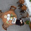 送料無料 アジアン バリ 5点セット 食卓 家具 ダイニングセット ダイニング 木製 チーク材 おしゃれ アジアン家具 バリ家具 リゾート …