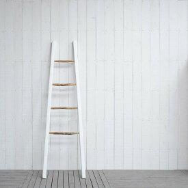送料無料 デコ・ラダー ラック シェルフ ハンガー 収納 はしご 棚 木製 ラダーシェルフ はしご シェルフ ラック ディスプレイラック ディスプレイシェルフ ウッドラック 収納 リビング 玄関 寝室 子供部屋 スリム 薄型 コンパクト 幅59