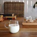 UNITEA ミルクピッチャー ミルク入れ クリーマー ミルクポット 食器 しょっき ブランド食器 ガラス ガラス製 おしゃれ デザイン シン…
