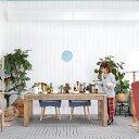 送料無料 【コクリコ】 ダイニングテーブル(PJT053) アンティーク アジアン テーブル 木製 無垢 シンプル モダン ダイニング 食卓 カフ…