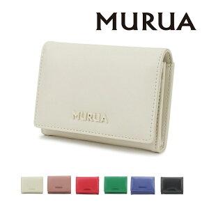 MURUA (ムルーア) 名刺入れ シンプルシリーズ MR-W814 ムルーア MURUA レディース 財布 サイフ ブランド 贈り物 プレゼント 一粒万倍日 天赦日