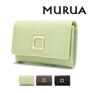 MURUA(ムルーア) 名刺入れ スクエアメタル カードケース レディース MR-W913 贈り物 プレゼント 2021SS 一粒万倍日 天赦日