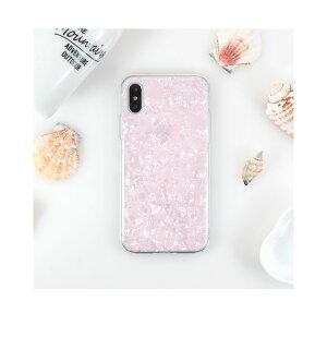 iPhone,ケース,カバー,かわいい,可愛い,おしゃれ,人気,シェル,貝殻,TPU,シリコン,ソフトケース,螺鈿,パール,女性,女子