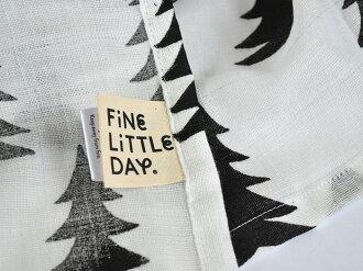 ◇FineLittleDayファインリトルデイGRANグランモスリンブランケットブランケットおくるみタオルケットひざ掛けモミの木ツリー北欧北欧生地北欧デザイン