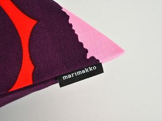 ◇マリメッコクッションカバー北欧ピエニウニッコバイオレットレッド赤marimekkoPIENIUNIKKO45×45cm北欧クッション花柄