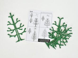 loviミニクリスマスツリー14cm木製