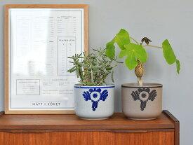鉢カバー おしゃれ 北欧 リサラーソン リサ・ラーソン Lisa Larson ビッグフラワー big flower 陶器 フラワーポット プランターカバー 観葉植物 3~4号用 【ギフト】