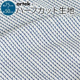 北欧 生地 はぎれ 約75×50cm ハーフカット ファブリック テキスタイル RIVI リヴィ リビ Artek アルテック モダン マスク 布マスク