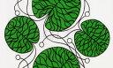約145×79cm 全3色 正規輸入品 マリメッコ marimekko BOTTNA ボットナ 布 布地 ファブリック テキスタイル 柄リピート…