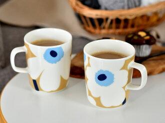 marimekkoマリメッコUNIKKOマグカップベージュ×ブルー北欧北欧食器【ギフト】