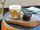 マリメッコ マグカップ ラテマグ 北欧デザイン ロッキ marimekko LOKKI ベージュ コーヒーカップ 食器 北欧 北欧食器 【ギフト】