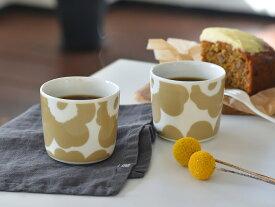 マリメッコ マグカップ ラテマグ ウニッコ 北欧デザイン marimekko UNIKKO ベージュ コーヒーカップ 食器 北欧 北欧食器 【ギフト】
