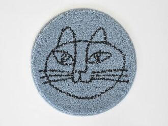 ◇リサラーソンチェアパッド北欧猫ネコねこLisaLarsonスケッチねこたち座布団マットチェアクッション