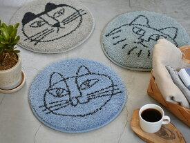 リサラーソン チェアパッド 北欧 猫 ネコ ねこ Lisa Larson スケッチ ねこたち 座布団 マット チェアクッション