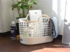 ◇収納かご洗濯かご洗濯カゴフレディレックランドリーバスケットミニ白ホワイトFreddyLeck