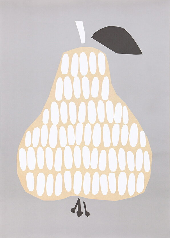 【200円クーポン配布中】 ダーリン クレメンタイン ポスター 50×70cm Pear 洋なし【ギフト】