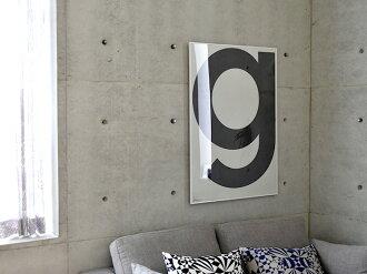PLAYTYPE(プレイタイプ)g(grey)ポスター70×100cm(北欧・北欧デザイン)【ギフト】