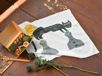サンク大きめのハンカチキャンブリック52×52cm4種【ギフト】