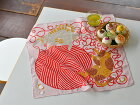 弁当包みおしゃれお弁当包みkatakataカタカタねこネコ猫ネコと毛糸風呂敷50cmハンカチ【ギフト】