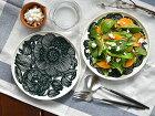 ◇マリメッコプレート北欧クルイェンポルヴィmarimekkoKURJENPOLVIダークグリーン緑お皿食器北欧北欧食器【ギフト】