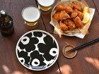 マリメッコプレートお皿ウニッコ北欧デザインmarimekkoUNIKKOブラックワントーンうつわメイン皿パン皿パスタ皿食器北欧北欧食器【ギフト】