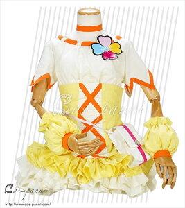 キュアパイン 山吹祈里(やまぶき いのり) ハートキャッチプリキュア!  コスプレ衣装 コスプレシャス