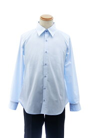 【春SALE価格】 カラーワイシャツ【水色 ブルー】【S〜LL】コスプレ 衣装 シャツ 無地 青 カラーシャツ アパレル