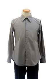 【春SALE価格】 カラーワイシャツ【グレー 灰色】【S〜LL】コスプレ 衣装 シャツ 無地 カラーシャツ アパレル