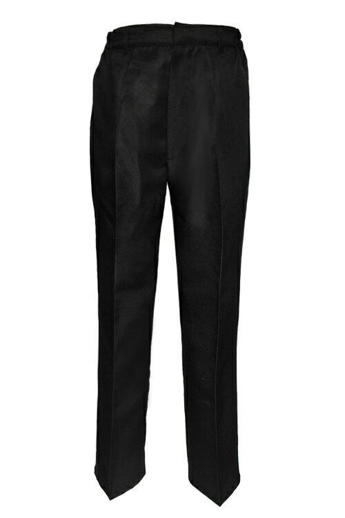 学生服 コスプレ【スラックス】黒 ブラック【S〜LL】衣装 ズボン パンツ ハロウィン コス アパレル(4000-3-bk)