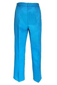 コスプレ 制服【スラックス】青 ブルー【S〜LL】ディズニー カラー 学生服 コス USJ/アパレル(4000-3-bl)