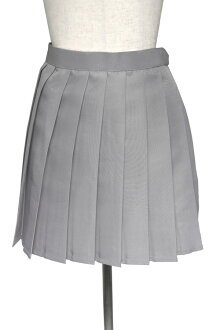 Cosplay skirt gray grey sailor outfit uniform school girl / apparel (4000-4-gy)