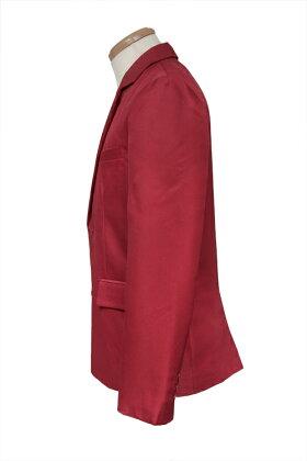 テーラードジャケット/レッド赤S〜LL/アパレル4000-1-rd