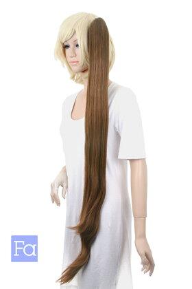 025【セピアブラウン】バンス【高温耐熱!!高品質コスプレ★フルウィッグ/wig】