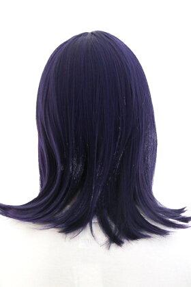 【ラピスラズリ】ミディアム【高温耐熱!!高品質コスプレ★フルウィッグ/wig】mi-bp0023