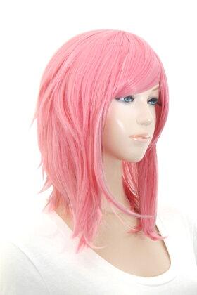 【フェアリーストロベリー】サイドロング【高温耐熱!!高品質コスプレ★フルウィッグ/wig】
