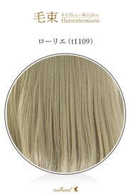 毛束 70x100cm【ローリエ】耐熱 毛束ウィッグ (ex-t1109)