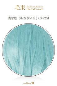 毛束 70x100cm【浅葱色(あさぎいろ)】耐熱 エクステ(ex-t4825)