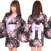 Cosplay sexy kimono yukata kimono dress green kimono mini long-off shoulder Japanese pattern dress cavadores water Halloween costume cheap store costume kimono dress events cosplay kimono dress water Halloween Halloween