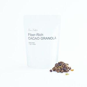 Fun Fiber ファンファイバーカカオグラノーラ 250g香料不使用 乳化剤不使用 人工甘味料不使用オーツ麦 玄米粉 食物繊維