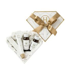 【HACCI ハッチ】ミニダイヤモンドBOXギフトセット(ハニーコラーゲン、ハンドクリーム)ショップバッグ付きハンドクリーム ハニーコラーゲンプレゼント 贈り物 セット