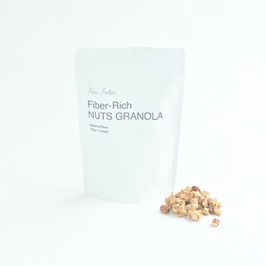 Fun Fiber ファンファイバーナッツグラノーラ 250g香料不使用 乳化剤不使用 人工甘味料不使用オーツ麦 小麦全粒粉 くるみ アーモンド 食物繊維Fiber-Rich PANCAKE MIX Chartres