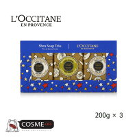 L`OCCITANE/ロクシタンホリデーソープトリオ200g*3(HKOCVKIT00256)