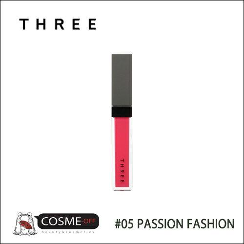 THREE/スリー シマリングリップジャム #05 PASSION FASHION 7g(T2M119)