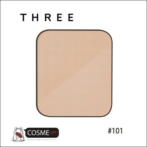 THREE/スリー リニューイング パウダー ファンデーション レフィル #101 (T2Y19P)