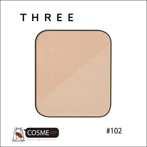 THREE/スリー リニューイング パウダー ファンデーション レフィル #102 (T2Y19Q)