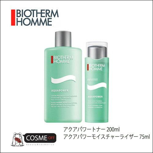 BIOTHERM/ビオテルム メンズ アクアパワートナー&モイスチャーライザー セット(TM127900)